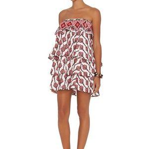 Caroline Constas strapless dress